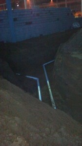 New Construction Plumbing Excavating