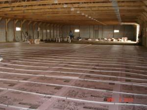Commercial Plumbing In-Floor Heat