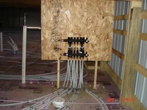Commercial Plumbing In Floor Heat