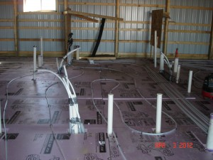 Commercial Plumbing In Floor Heating