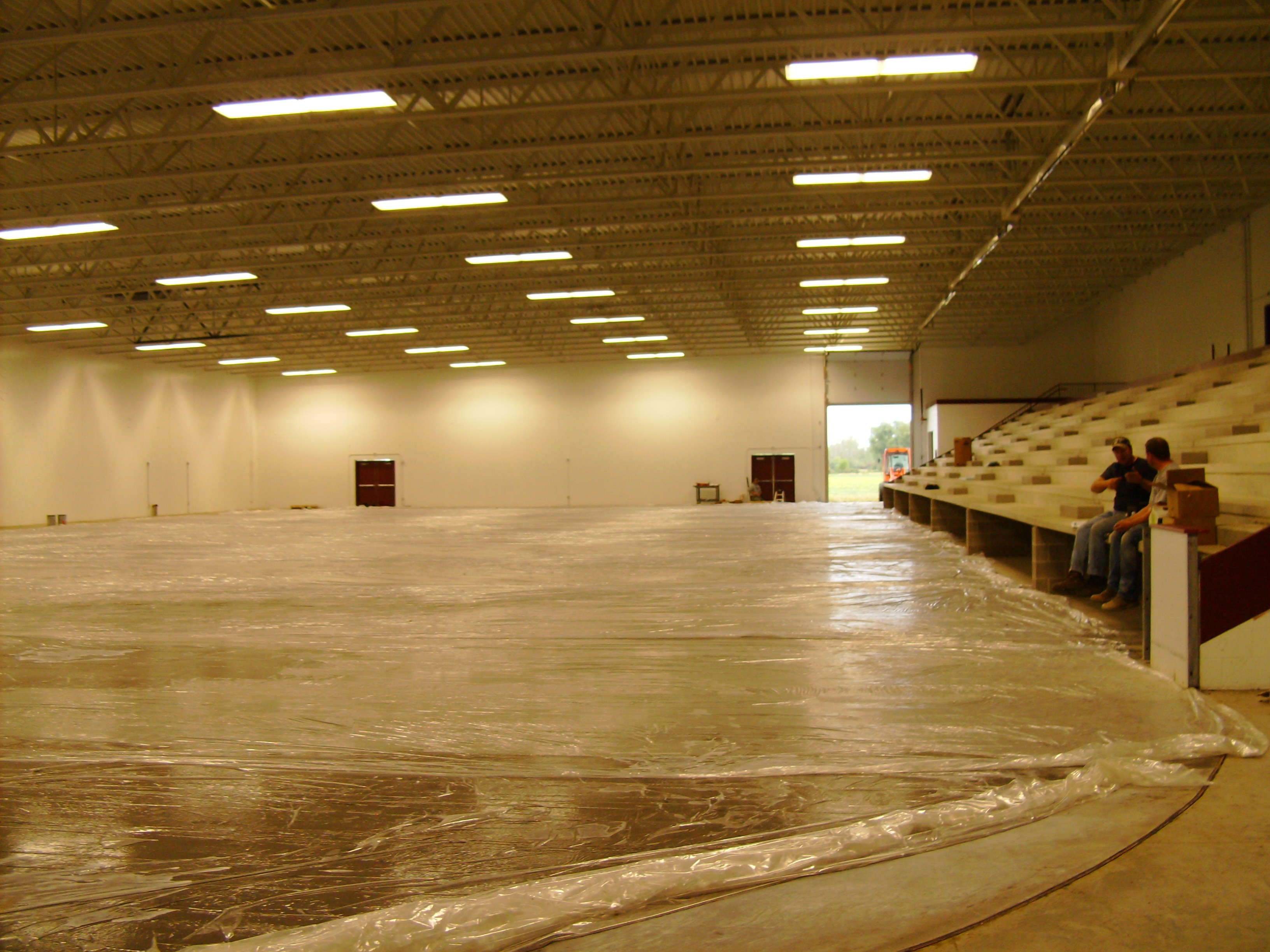 Ice Arena Commercial Plumbing Project