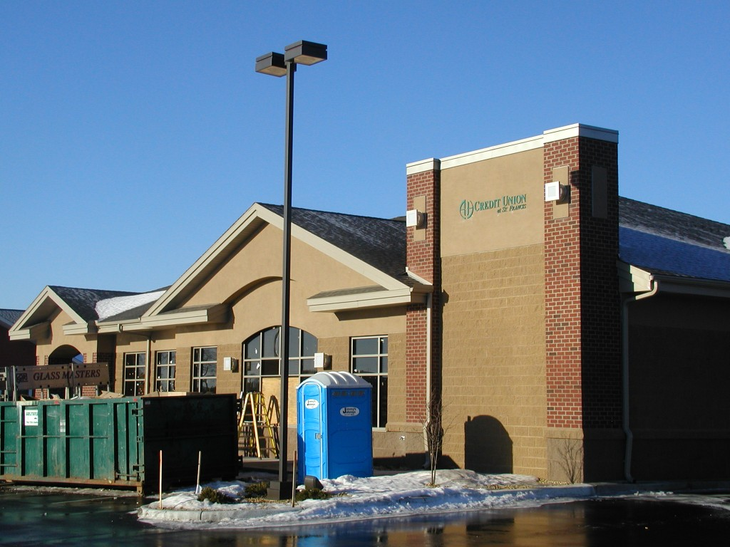 New Construction of the St Francis Anoka Hennepin Credit Union