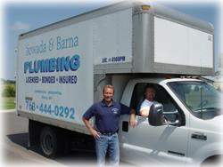 Sowada & Barna Professional Plumbing Truck
